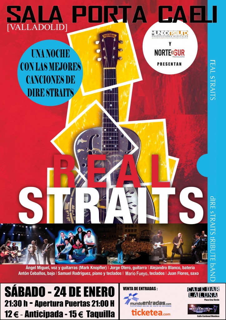 cartel real straits valladolid 2015